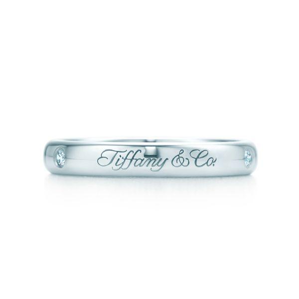 ティファニー ノーツ Tiffany & Co. ルシダ バンドリング - Tiffany & Co.(ティファニー)の結婚指輪(マリッジリング)結婚指輪はどこで買う?ティファニーのマリッジリングの参考一覧♡