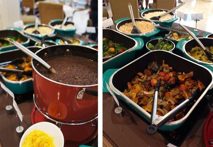 Bufe de almoço que acontece todos os sábados - Minha visita ao Hotel Serra da Estrela em Campos do Jordão - que vem se reformulando com uma visão sustentável, inclusive na sua cozinha - o restaurante Alquimia.
