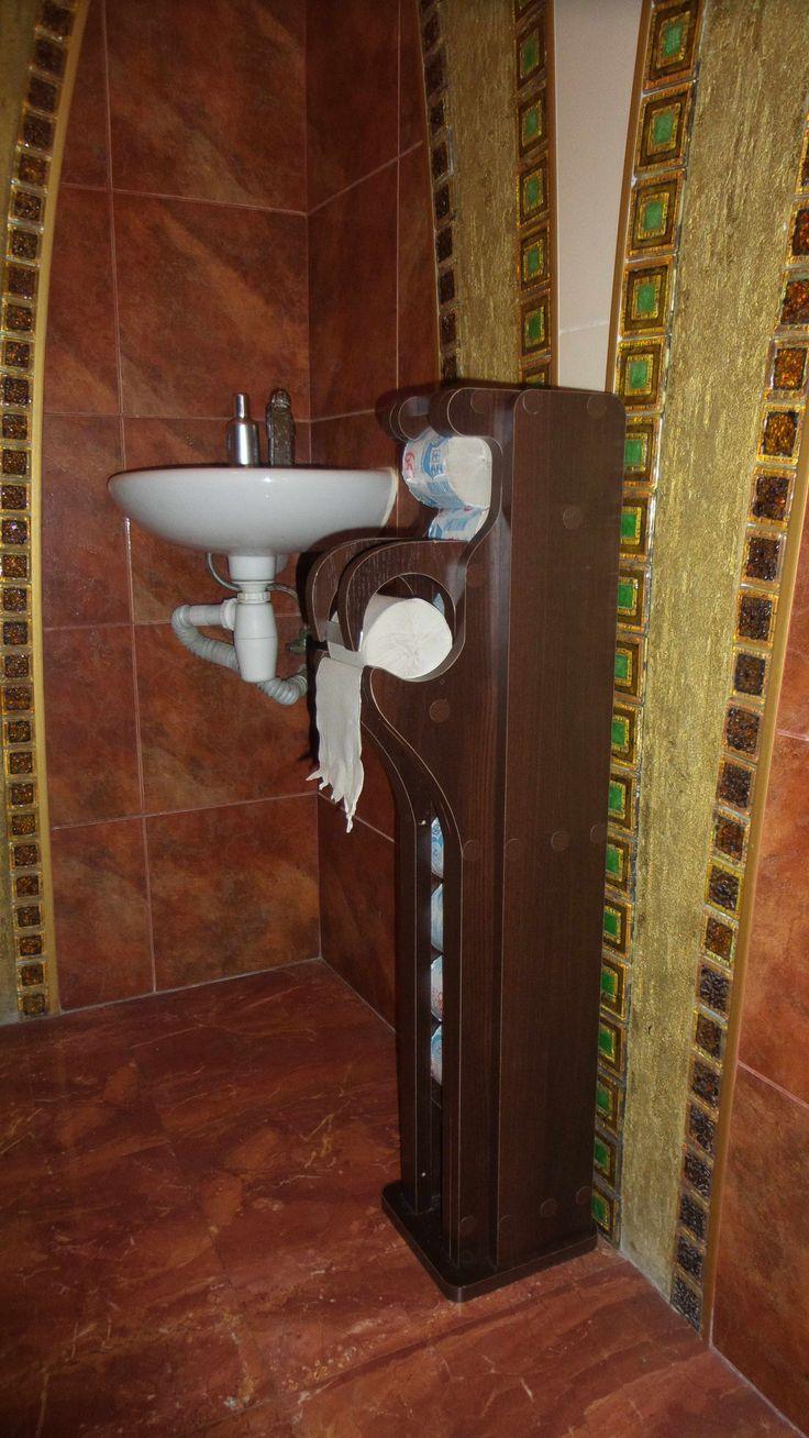 Стойка держатель туалетной бумаги с автоматической подачей рулонов