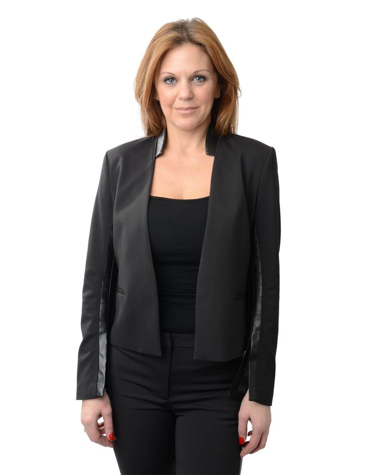 J.Lindeberg Black Tess Blazer | Accent Clothing