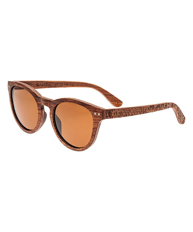 Look at this #zulilyfind! Red Rosewood Copacabana Wood Sunglasses by EARTH wood watches #zulilyfinds