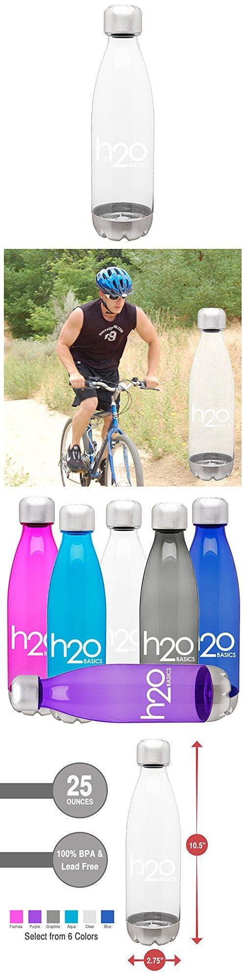 BPAFree Sport Water Bottles 25 oz, Tritan Non Toxic