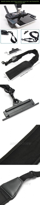 Remote Control Neck Strap Hanging Buckle Belt Mini Transmitter For DJI Mavic Pro #camera #racing #products #tech #plans #neck #mavic #parts #fpv #shopping #gadgets #kit #drone #strap #pro #technology