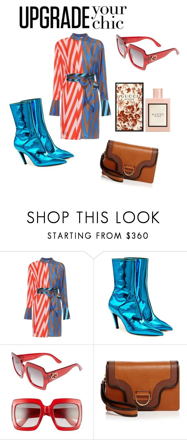 """Upgrade your chic"" by christyandnef on Polyvore featuring Diane Von Furstenberg, Balenciaga, Gucci and Marc Jacobs"