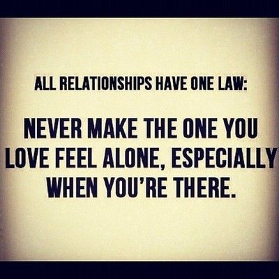 WOW- can't stress this enough! This may be the single most important thing about any relationship!!!