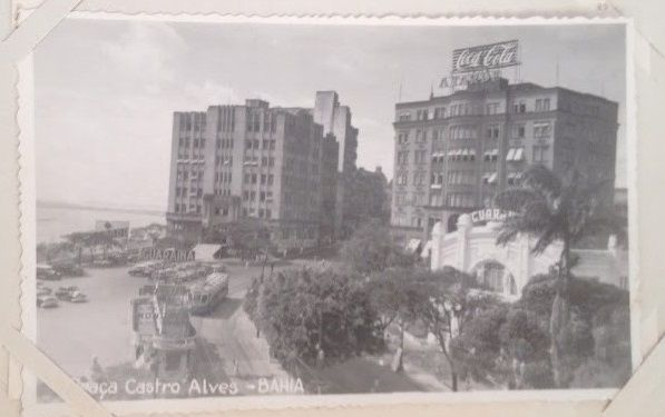 Postcard from Bahia during the 50th:s