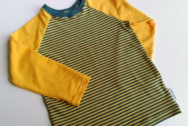 Raglan in streepjes - tutorial voor een t-shirt