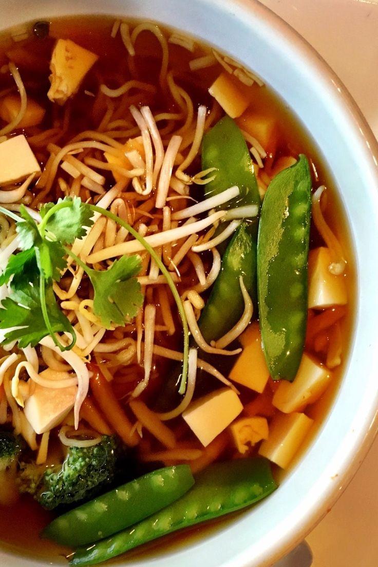 Sopa Ramen vegana - Mi Cocina Vegetariana