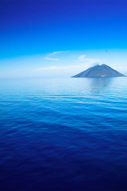 stromboli, tyrrhenian sea, sicily, italy.province of Messina