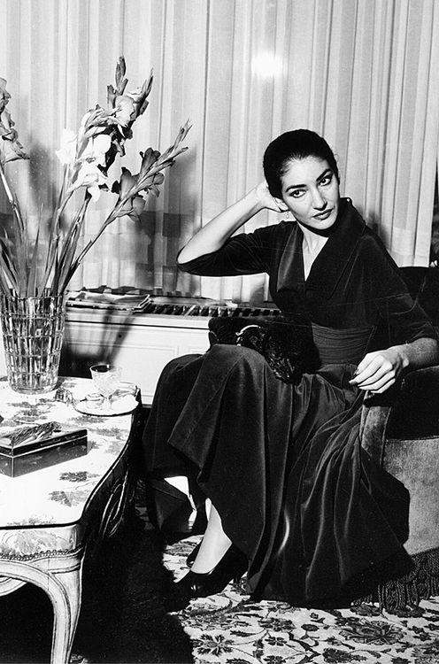 Maria Callas.  La mejor voz del mundo ❤️                                                                                                                                                                                 More
