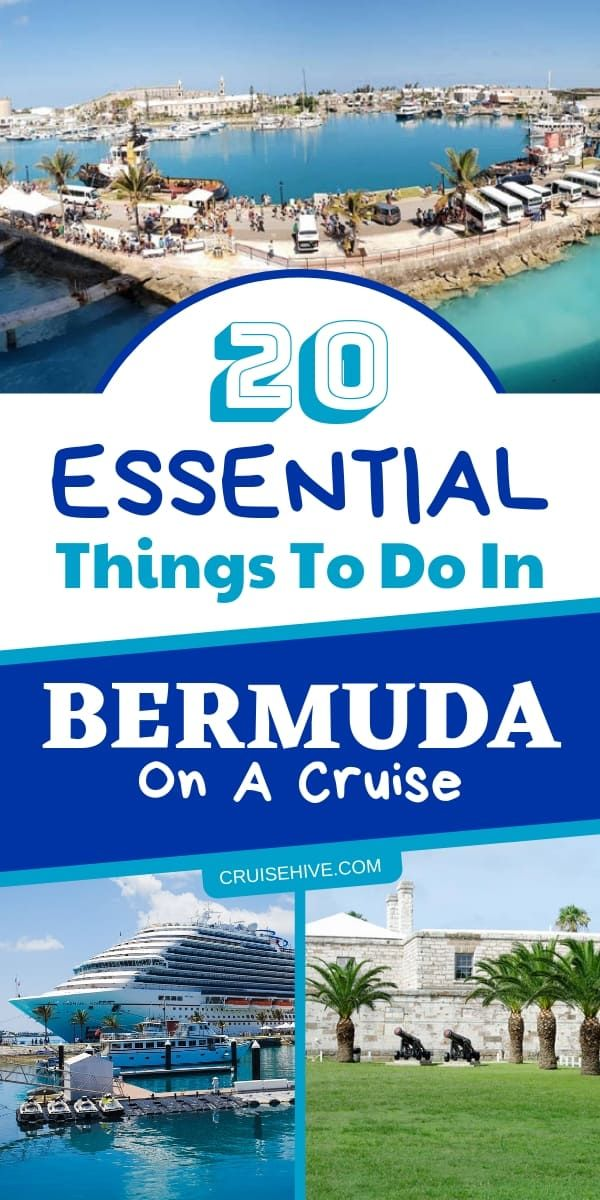 20 Essential Things To Do In Bermuda On A Cruise