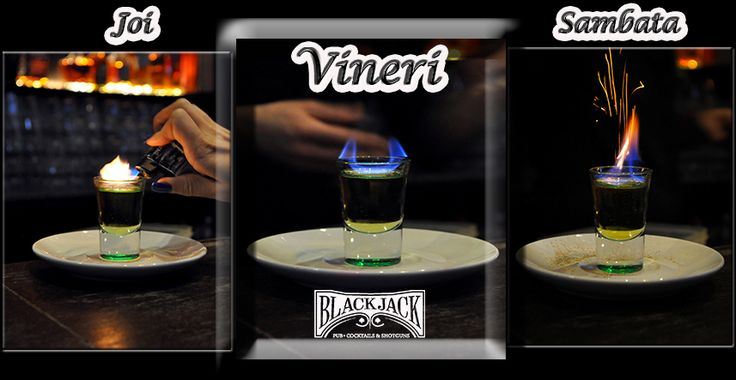 On fire! @Black Jack Pub