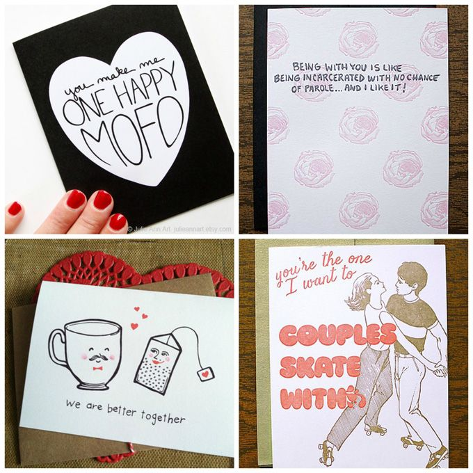 Best Love Images On Pinterest Funny Cards Holiday Crafts - 8 funny valentines cards for single people