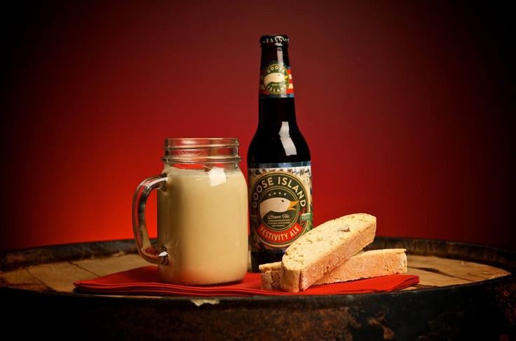 Any Egg Nog lovers out there? Goose Island has a recipe for Festivity Ale Egg Nog!