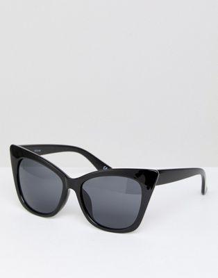 c9d94bde37702 ASOS Basic Cat Eye Sunglasses