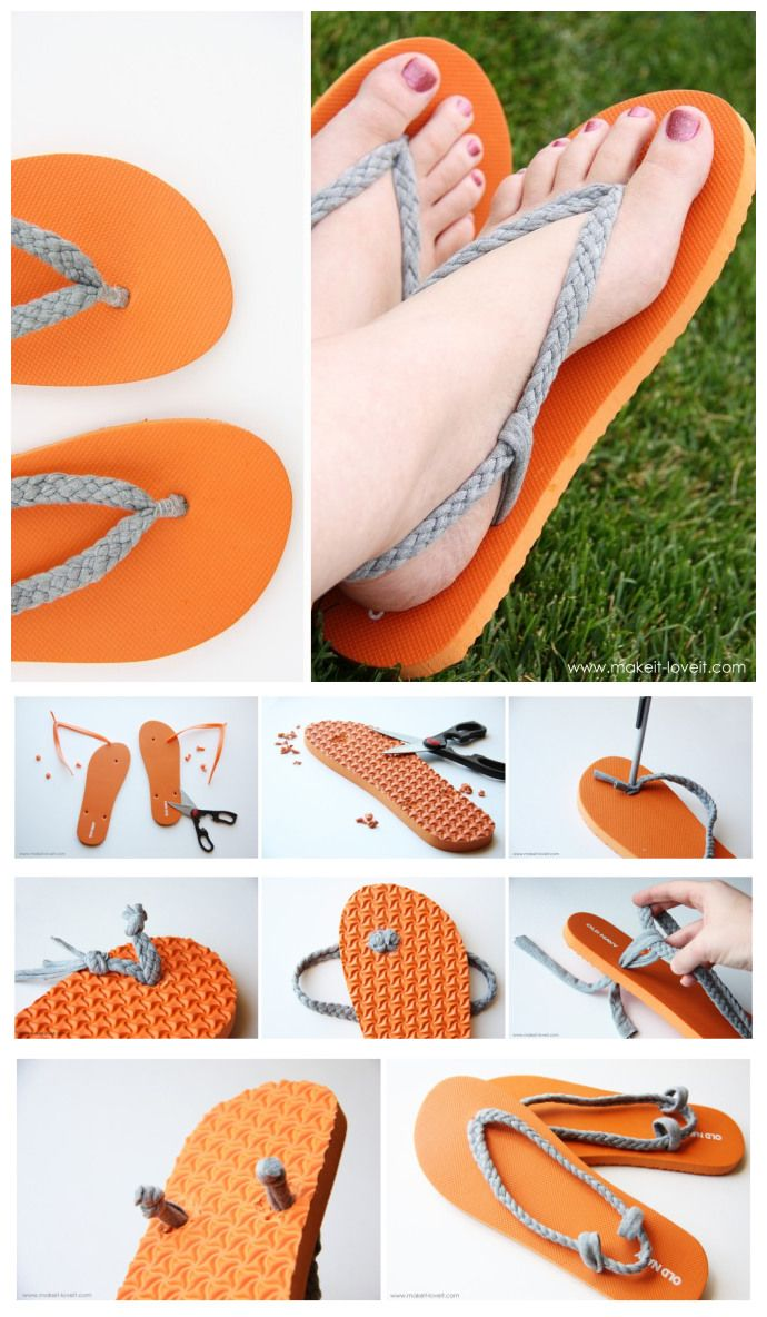 joybobo: diy: flip-flop refashion