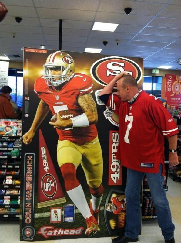 Kaepernicking by 49ers display