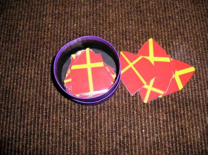 Telwerkje Sinterklaas Mijters