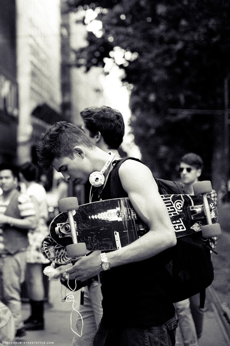 There's something about skater boys...