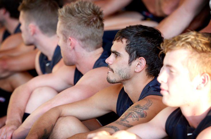 2014 team photo day at Visy Park on February 03, 2014 (Photo: Justine Walker /AFL Media)