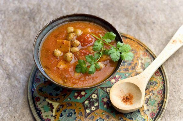 #soupe de #tomates à l' #orientale