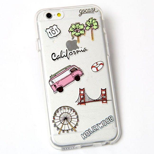 Custom Phone Case California Travel