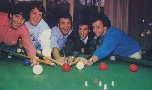 Rossi, Tardelli, Cabrini, Scirea, Platini.