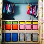 子ども部屋のすごい収納の画像集!洋服やクローゼット収納のコツは?
