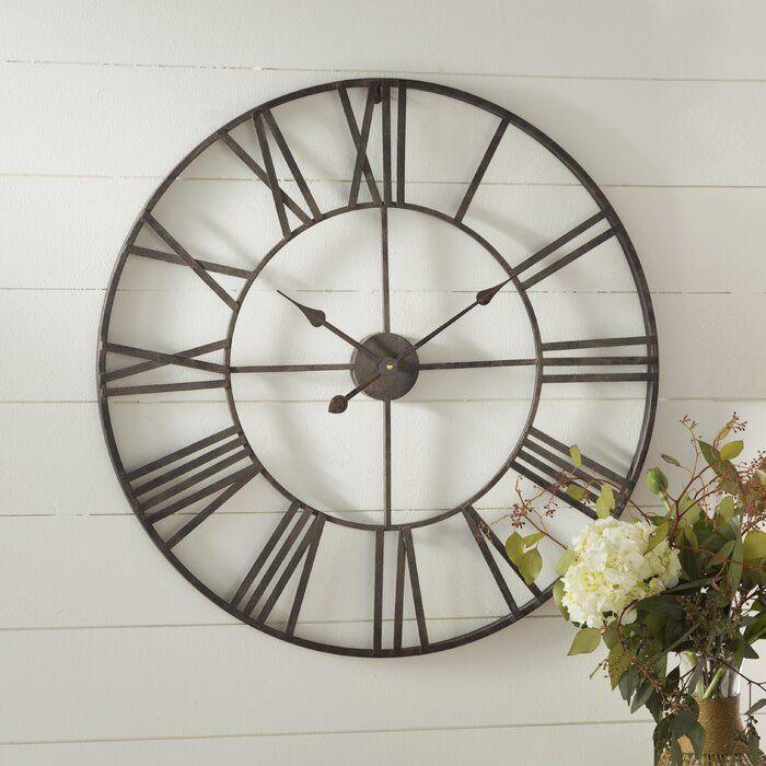 Oversized Eisenhauer 30 Wall Clock In 2020 Wall Clock Big Wall