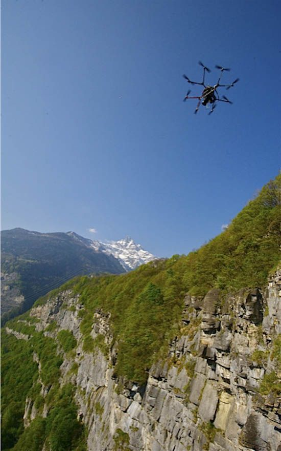 Aerial drone Photography.  Some great images and videos using Mikrokopter drones.