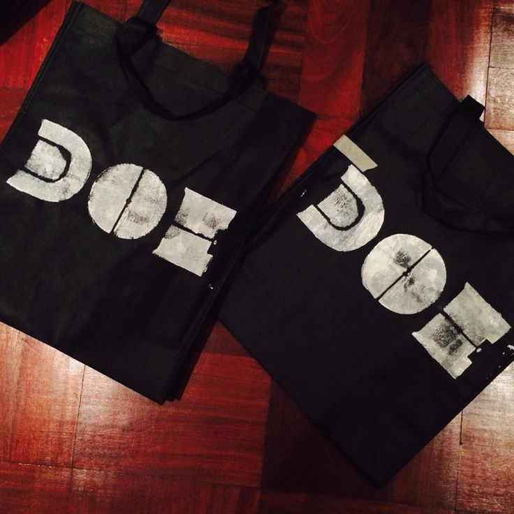 Doe gift bags / the two first of hundred