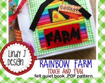 Keira's FAIRY Book Felt QUIET .PDF Pattern by LindyJDesign on Etsy