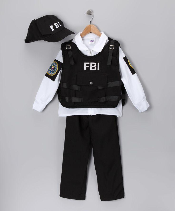 This Black FBI Agent Dress-Up Set - Kids by Dress Up America is perfect! #zulilyfinds