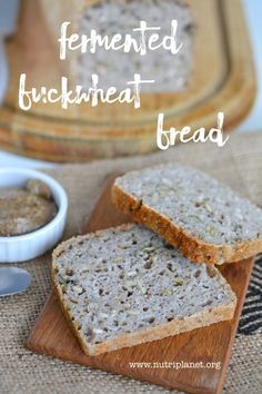 Fermented buckwheat bread is delicious and also easy to make at home as it doesn't require a starter.