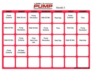 Les Mills Pump Month 3