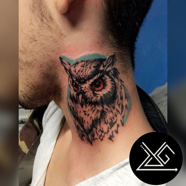 #owl #owltattoo #yelizgunay #tattooartist