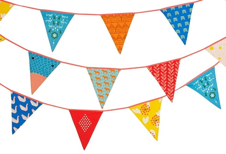 Hang up 'Mrs Fox' bunting to celebrate Mother's Day!