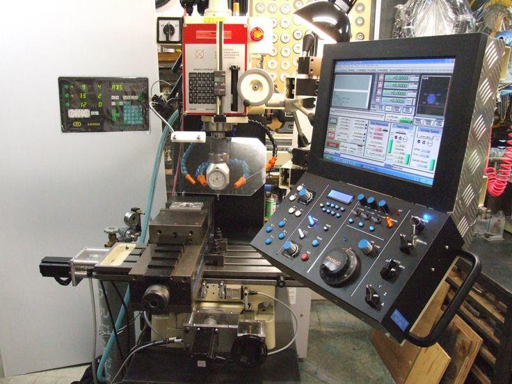 Homemade CNC Milling machine 自作 CNC フライス盤 DIY