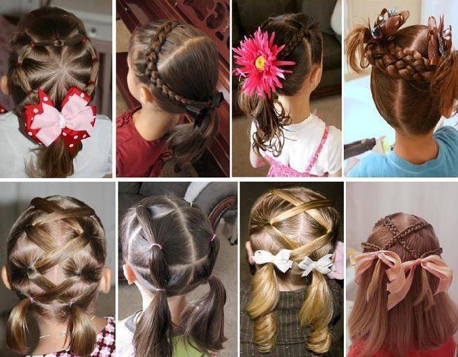 Casada e Apaixonada: Penteados Infantis