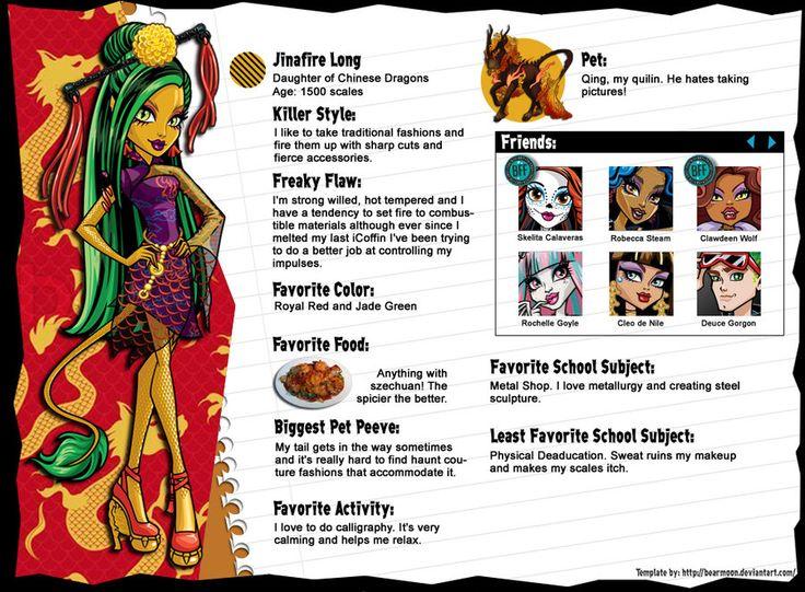 934 best Monster High images on Pinterest  Monster high dolls