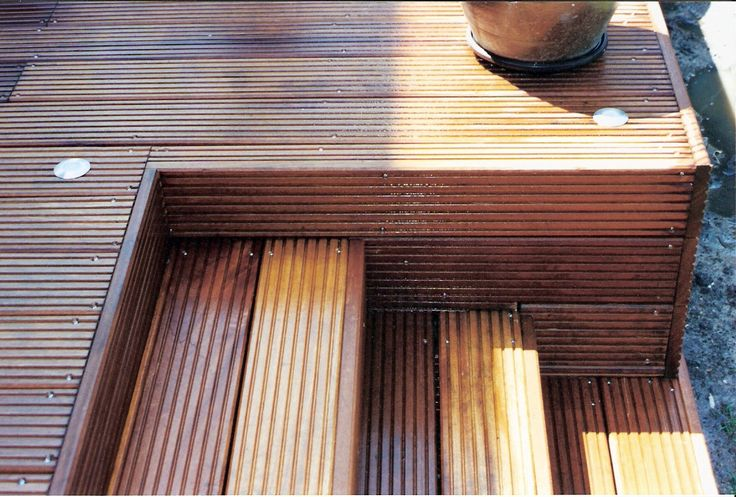 die besten 25 bangkirai terrasse ideen auf pinterest. Black Bedroom Furniture Sets. Home Design Ideas