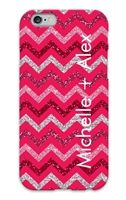 Sparkling Chevron Custom Phone Case for #iPhone and #Galaxy