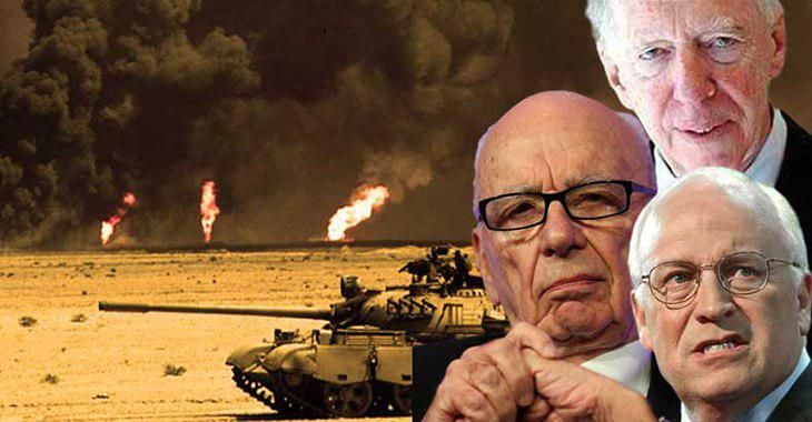 Cheney, Rothschild, And Fox News' Murdoch Violate International Law By Drilling For Oil In Syria