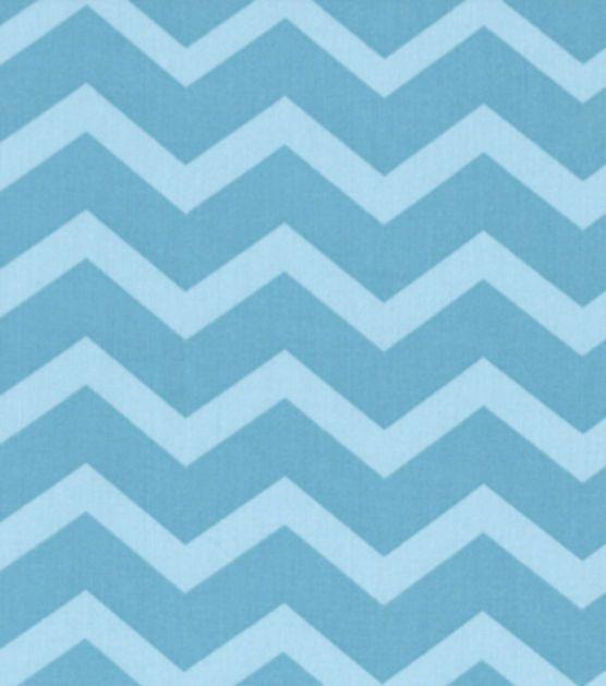 Keepsake Calico Fabric-Blue Tonal Chevron, , hi-res