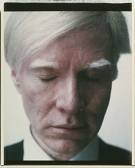 warhol self portrait