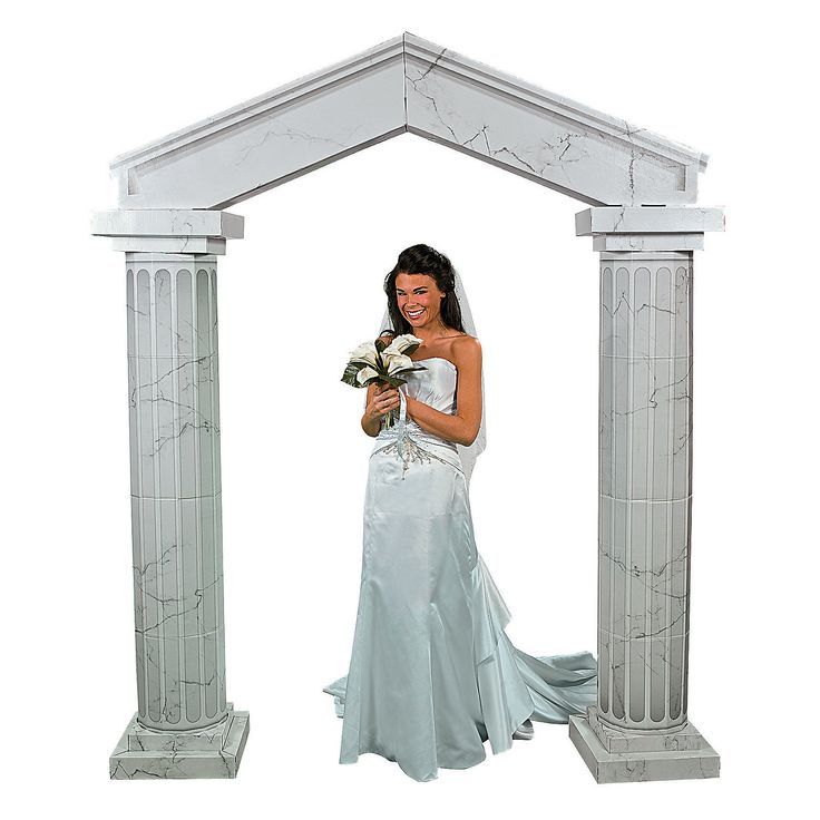 Wedding Altar Columns: 10+ Ideas About Archway Decor On Pinterest