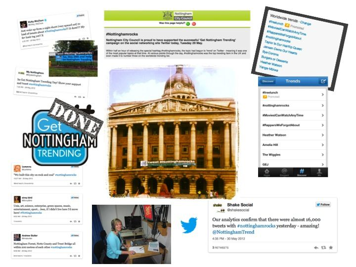 What a success! The main objective of the campaign was to raise the profile of Nottingham via Twitter. We delivered a strategy that built up followers, generated new content, galvanised local pride, created anticipation and finally unleashed a new hashtag – #Nottinghamrocks – on the day that took Twitter by storm. As a result of …