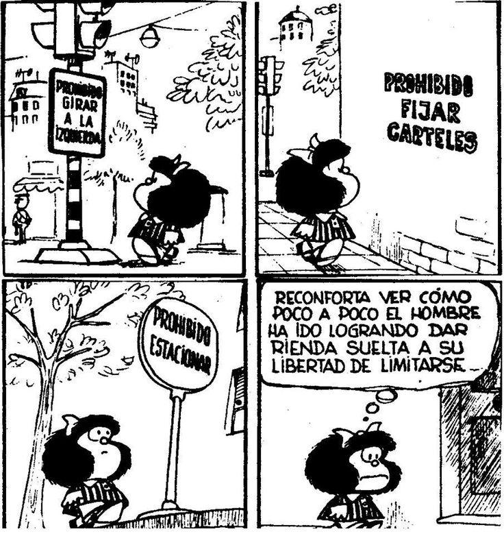 Limitarse- Mafalda