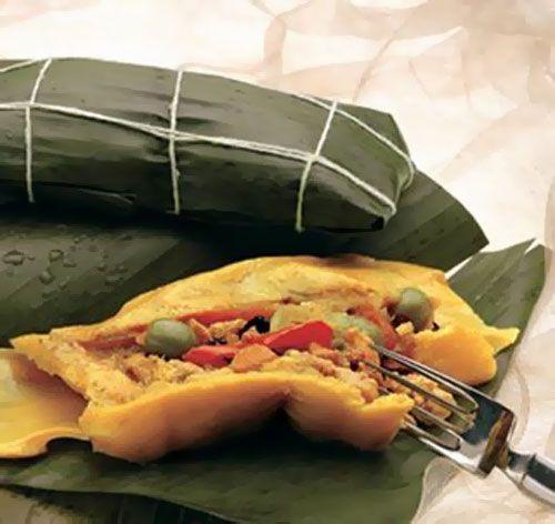 Hallaca - Venezuelan Christmas dish...YUM!