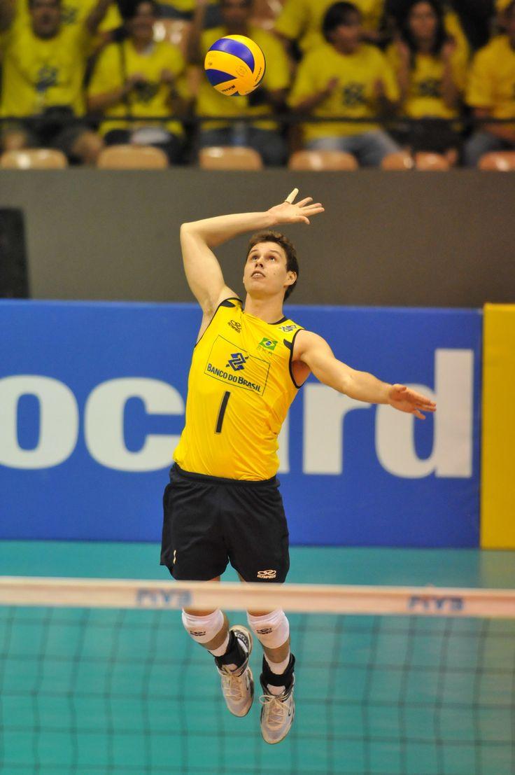 Bruno Rezende - Atleta da Seleção Brasileira de Volleyboll
